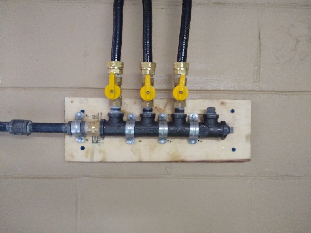 Indianapolis, IN - Gas pipe replacement & gas manifold installation