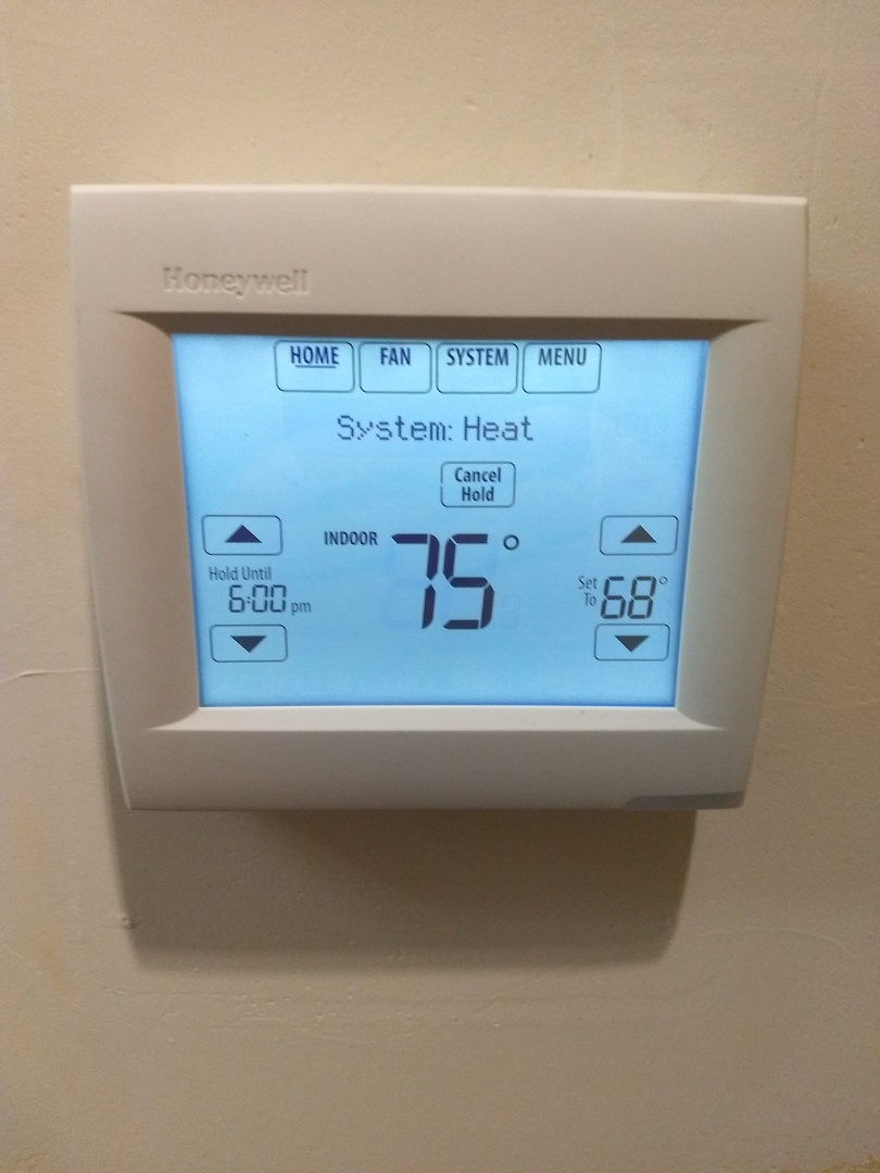 Knightstown, IN - New Thermostat installed