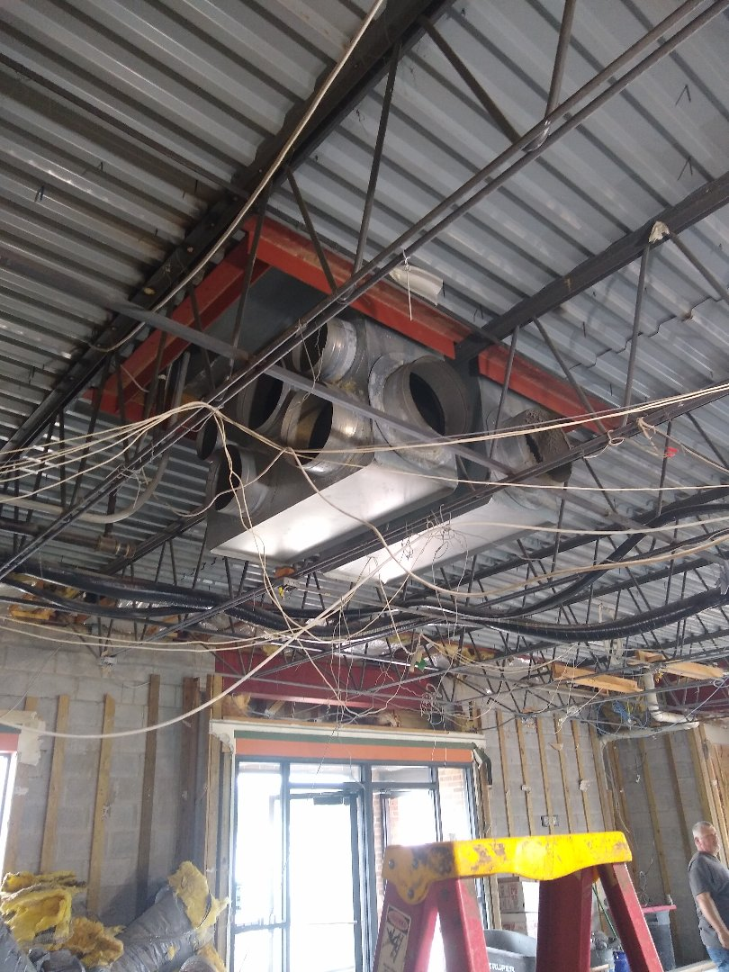 Installing New Ductwork