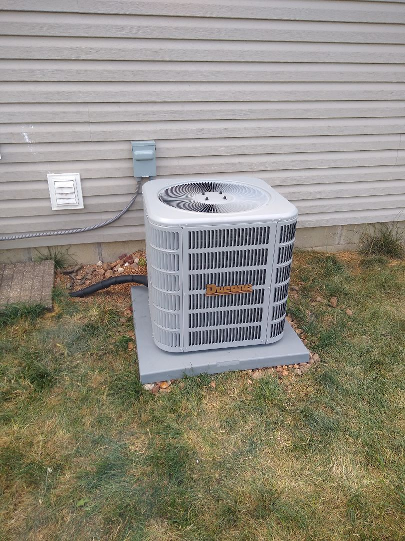 Indianapolis, IN - Air conditioner replacement