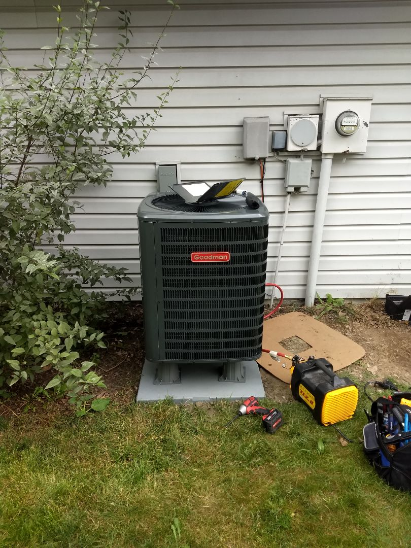 Indianapolis, IN - Installed new heat pump and air handler