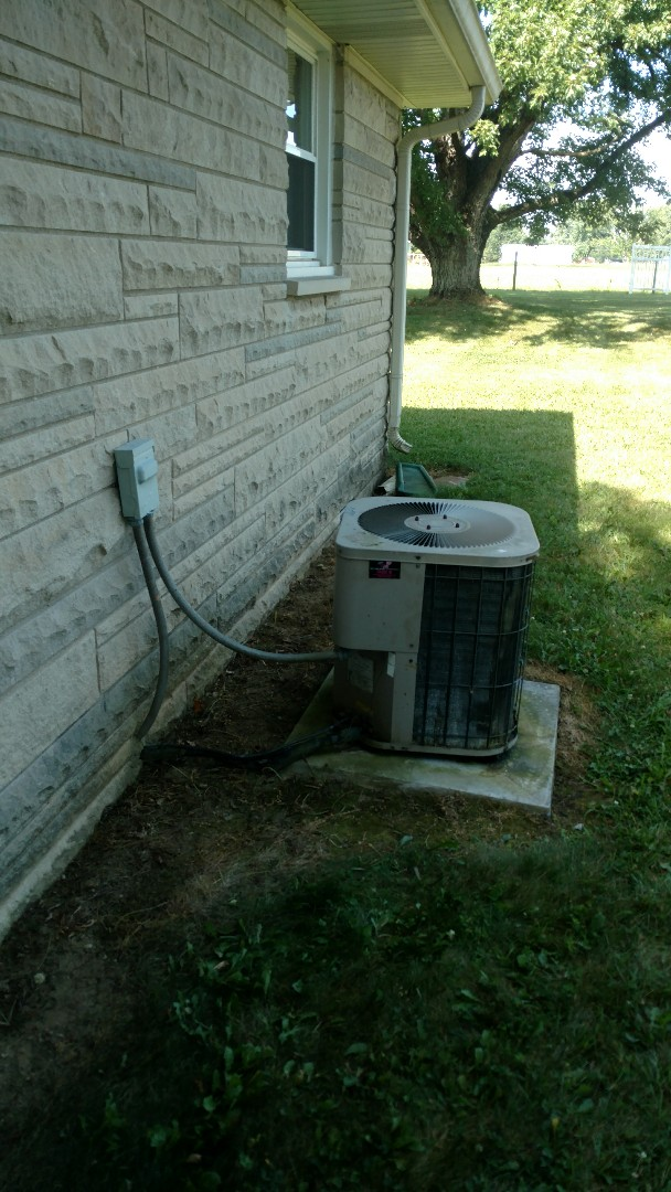 Air conditioner not blowing cold air