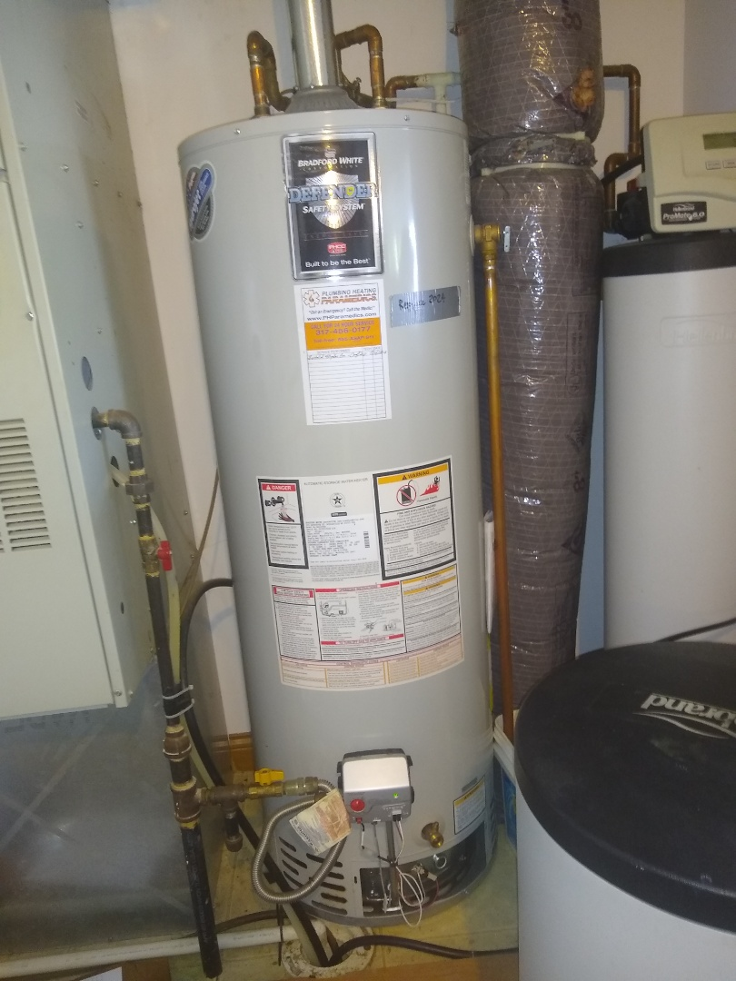 Water heater not lighting