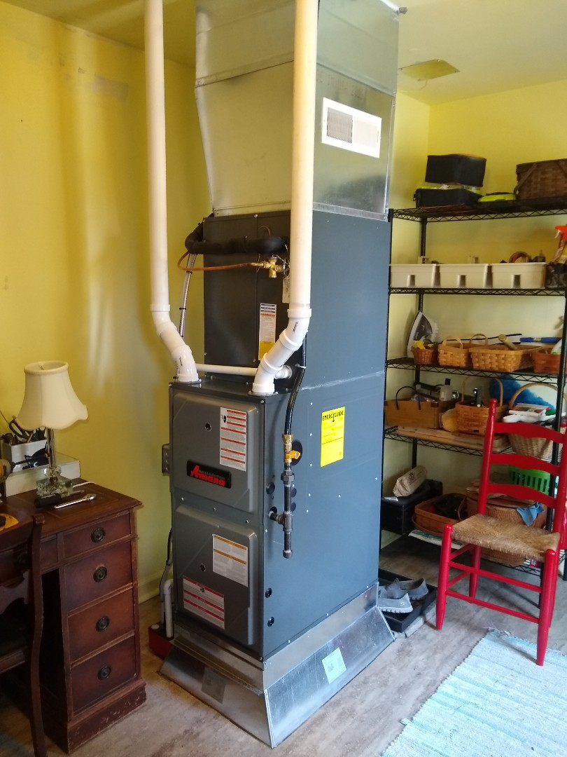 Greenfield, IN - Furnace and air conditioner replacement