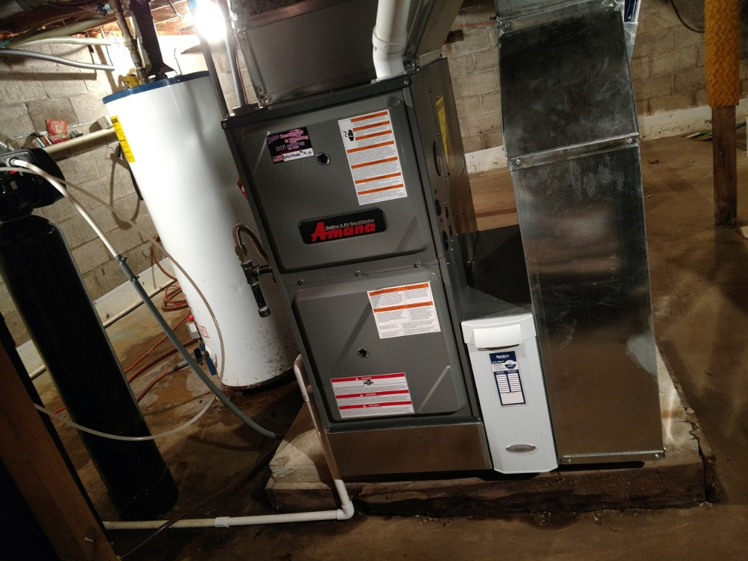 Knightstown, IN - Install Furnace and April Air Filter cabinet