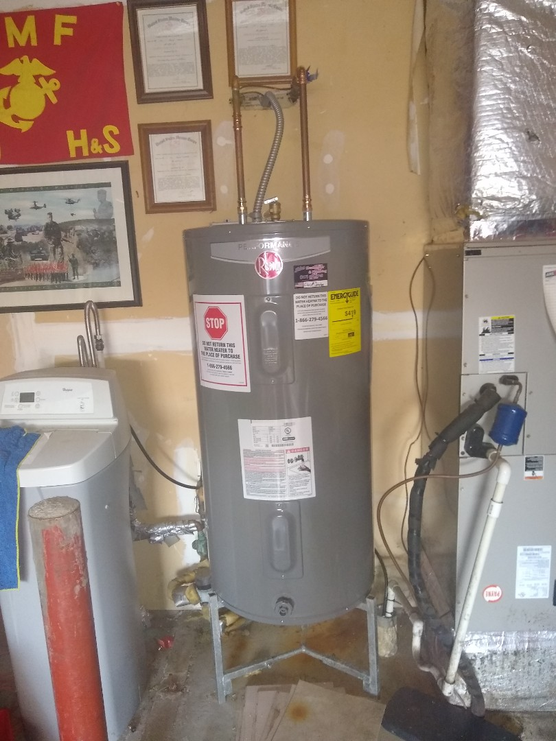 Indianapolis, IN - Water heater install