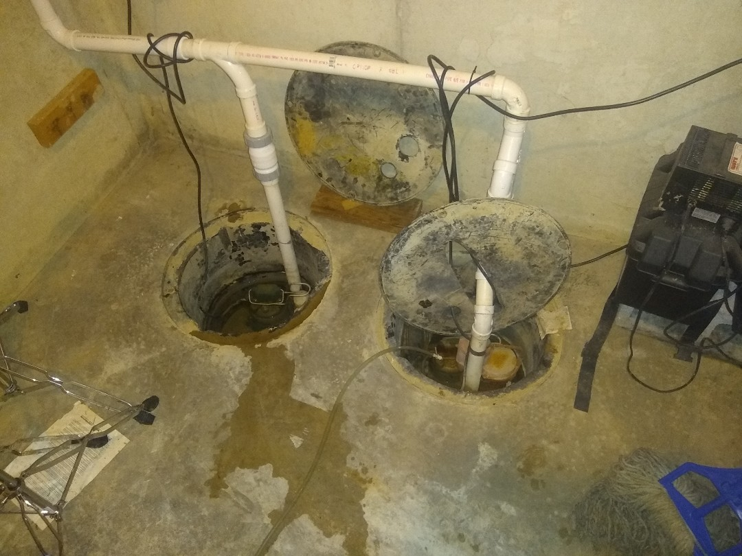 Indianapolis, IN - Sump sumps not working