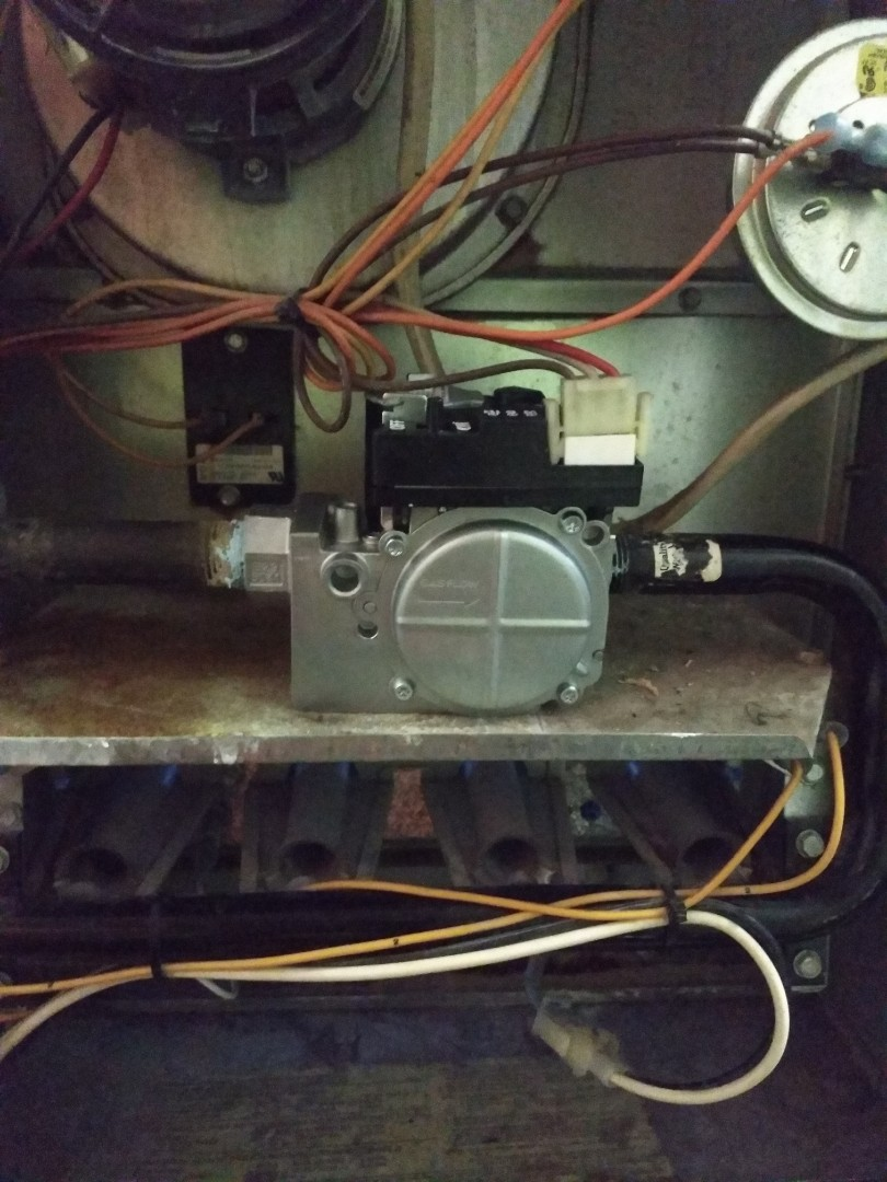 Indianapolis, IN - Replaced gas valve