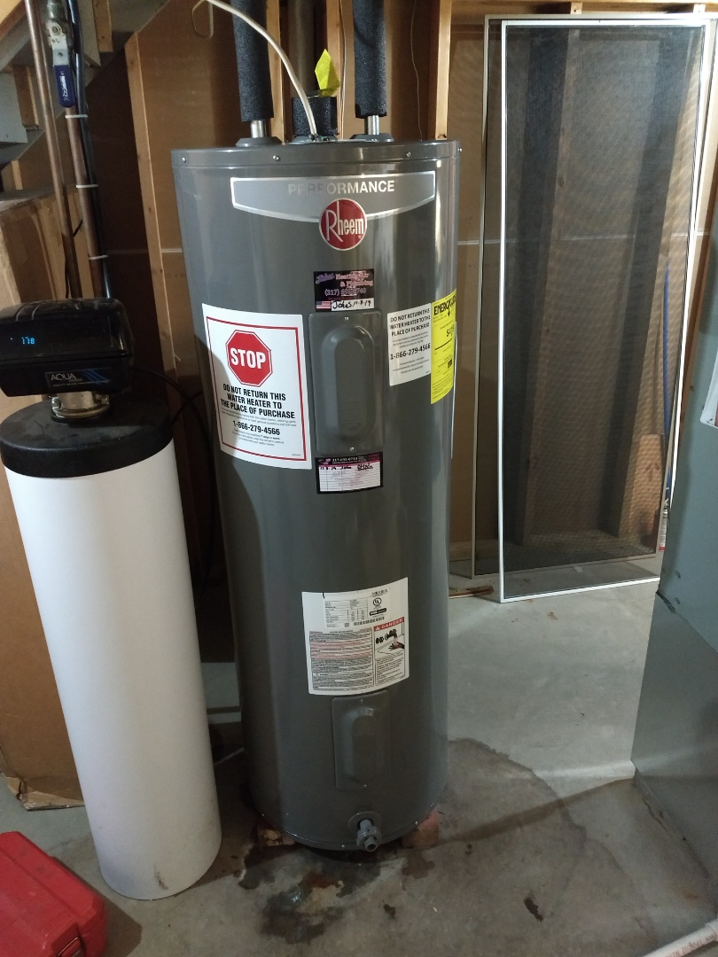 Indianapolis, IN - Installed new water heater
