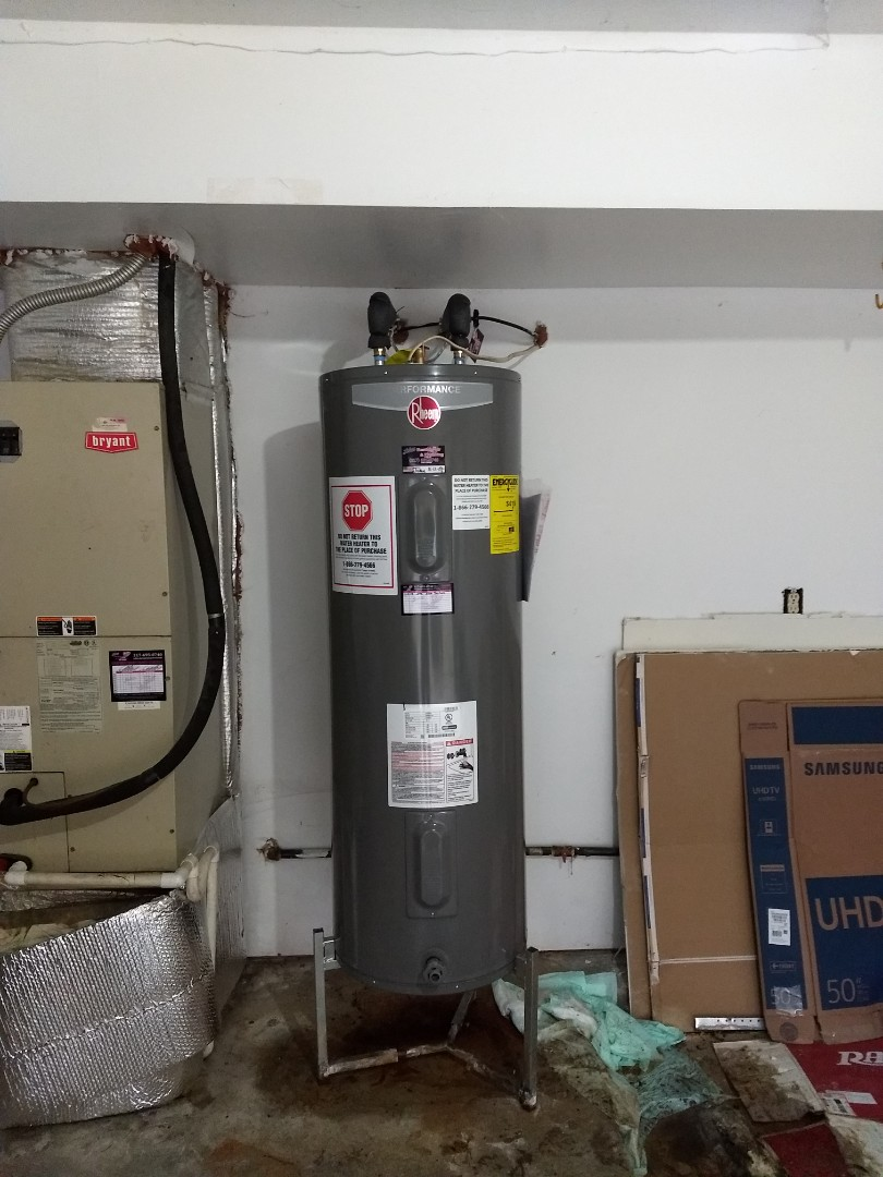 Lawrence, IN - Installed new water heater