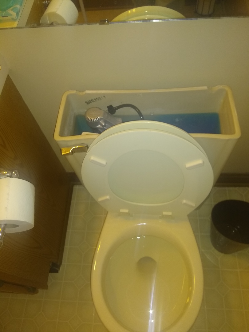 Fishers, IN - Toilet continuously running