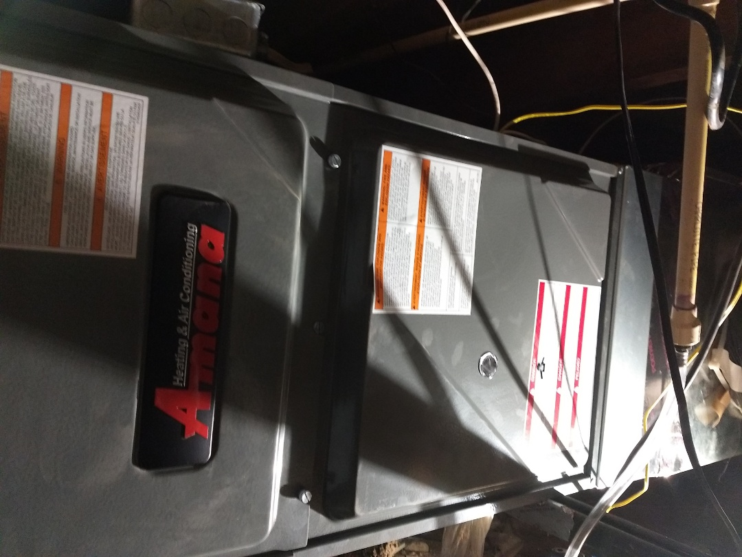 Knightstown, IN - Installed new gas furnace