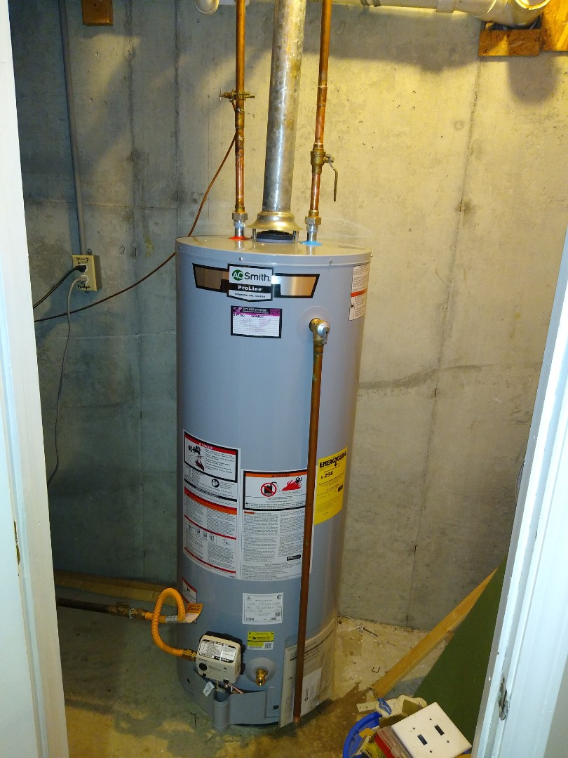 Water Heater and faucet Replacement