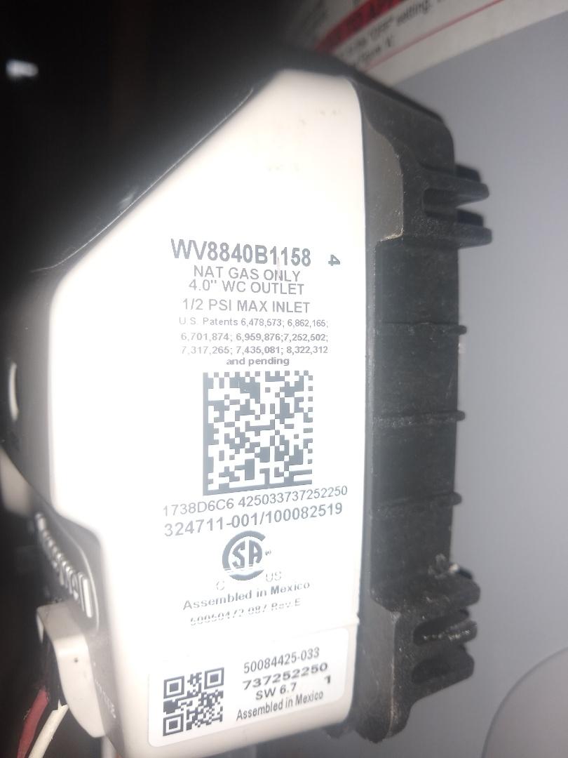 Water heater not working