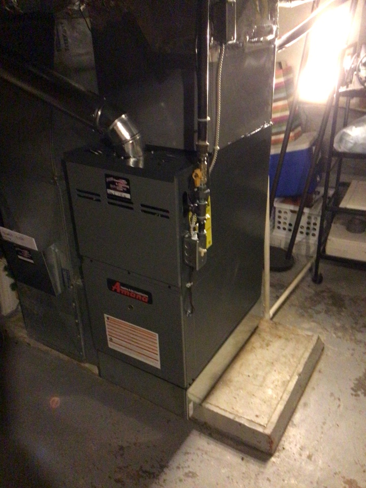 Indianapolis, IN - Installed new amana gas furnace
