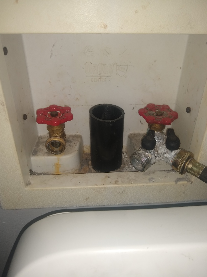 Washer valve leaking