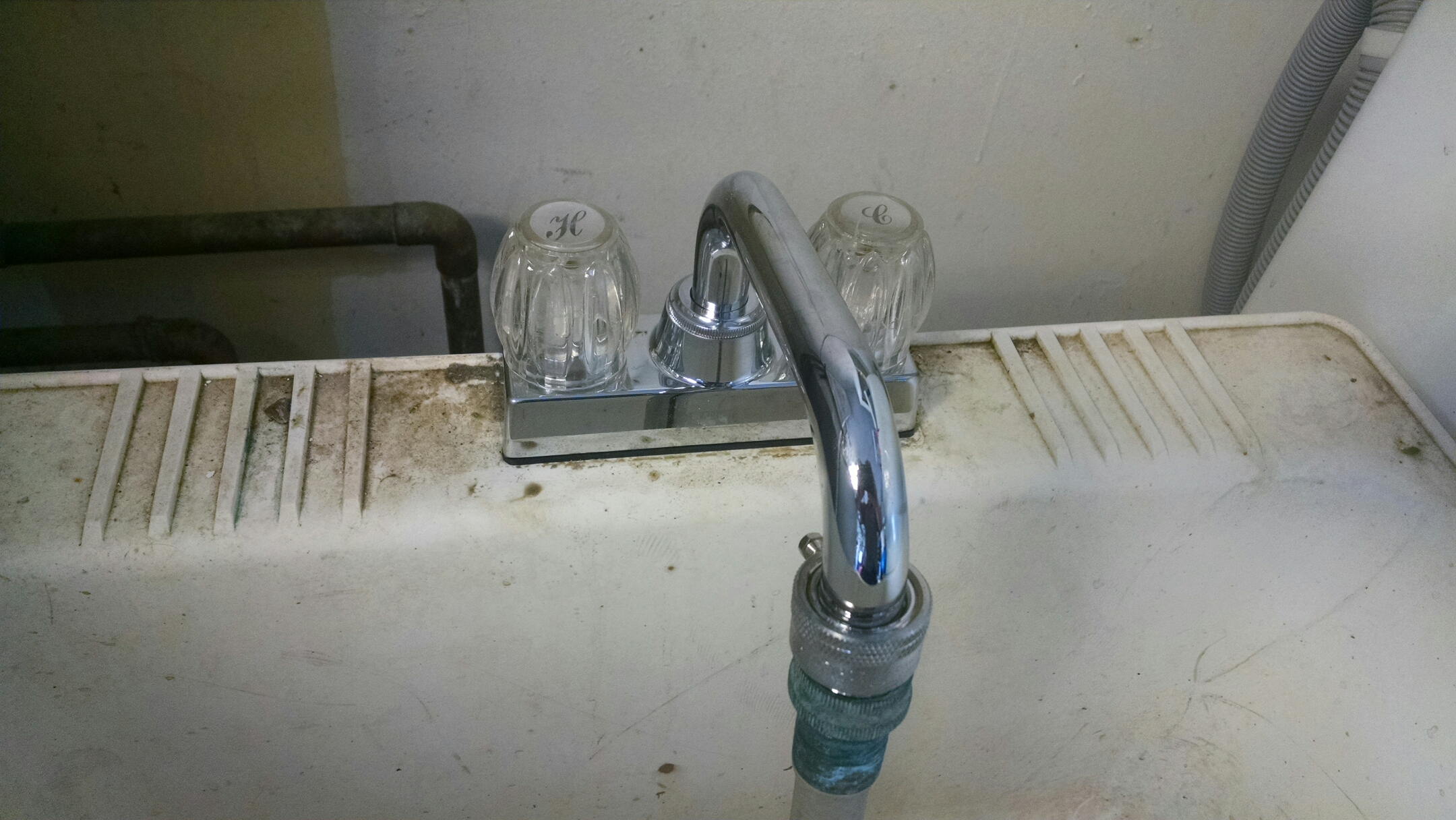 Brownsburg, IN - Utility faucet installation