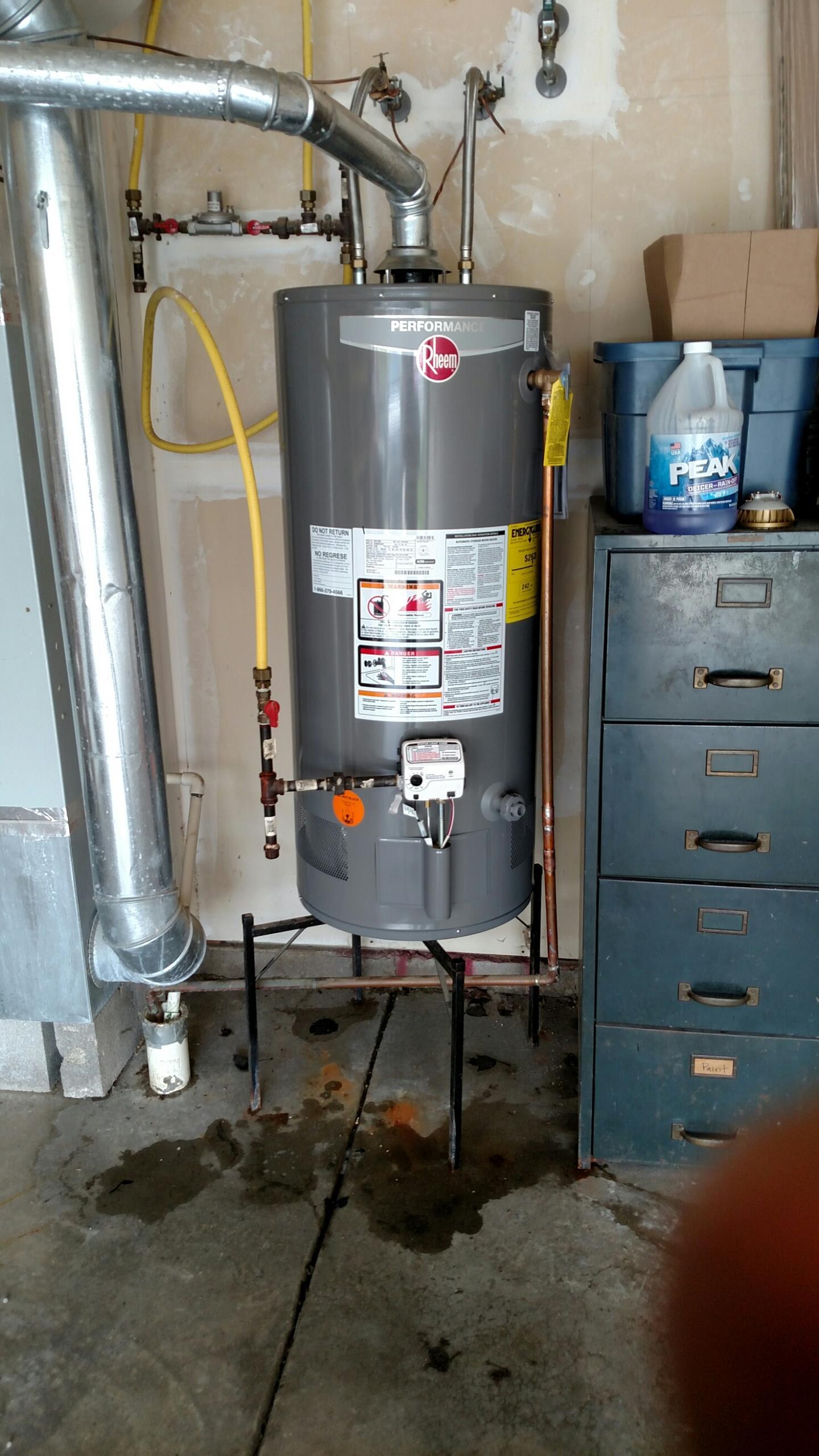 McCordsville, IN - Replace Reem heater