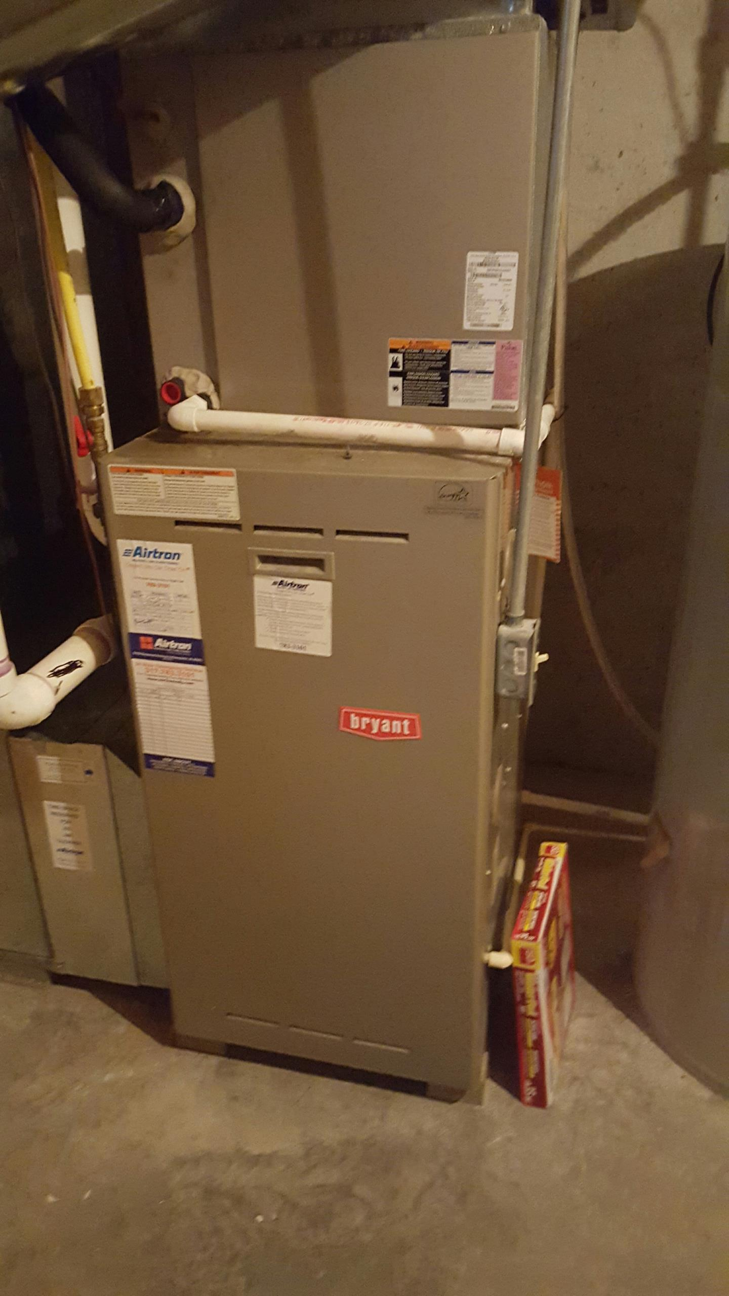 McCordsville, IN - Maintenancing 3.5 ton bryant system for spring