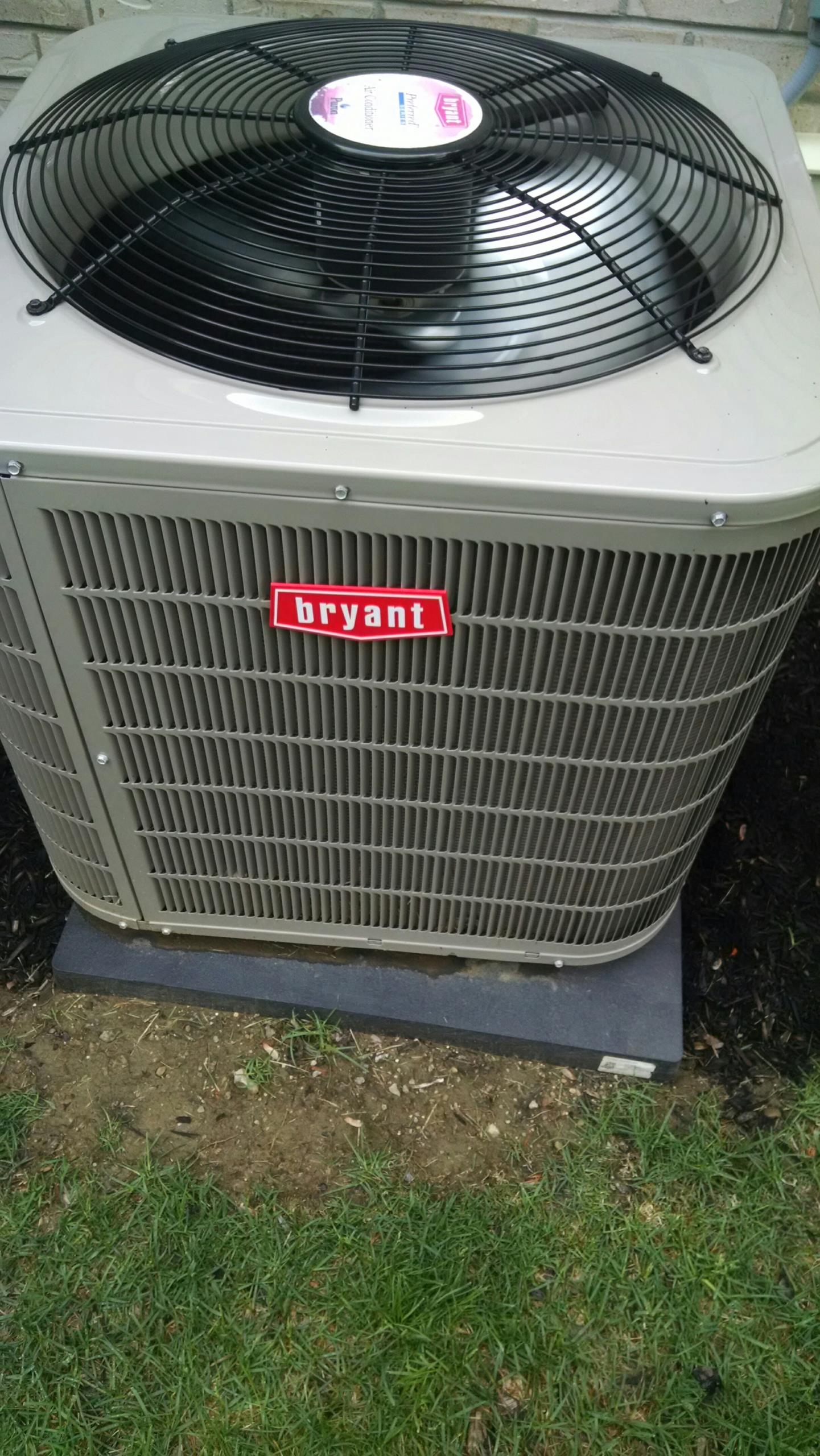 McCordsville, IN - Bryant air conditioning/AC maintenance. Service and repair. Install