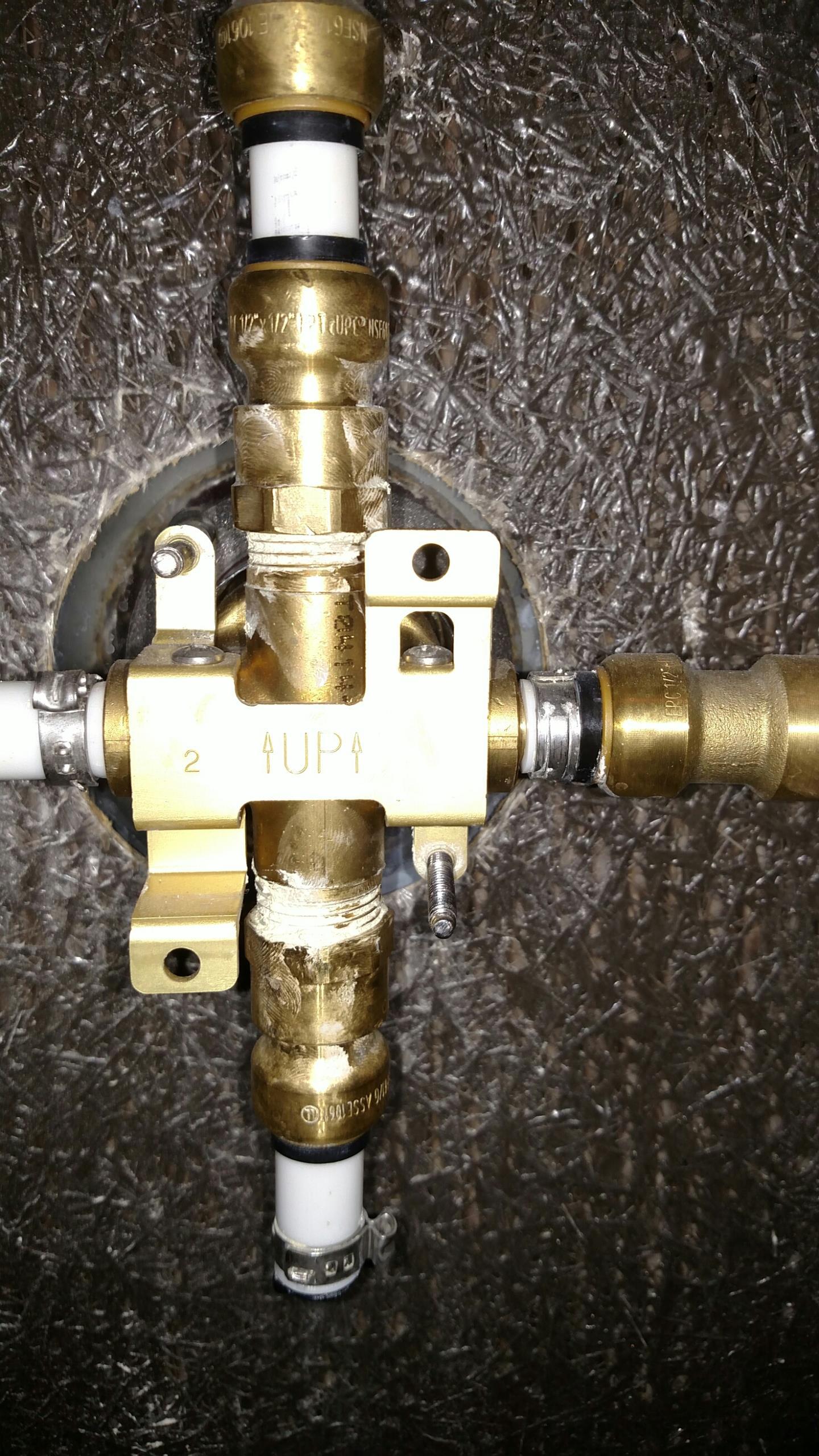 Westfield, IN - Shower valve repair