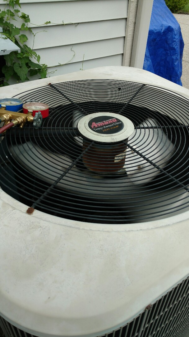 Westfield, IN - Amana heat pump AC repair service