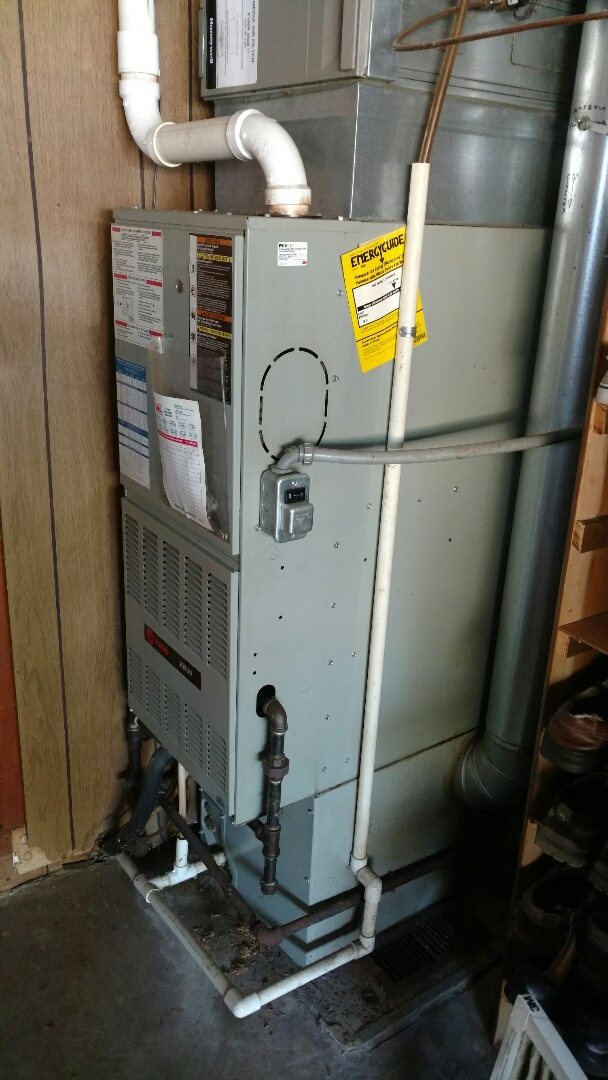 Trane gas furnace repair maintenance