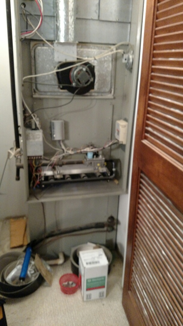 Trane furnace broken
