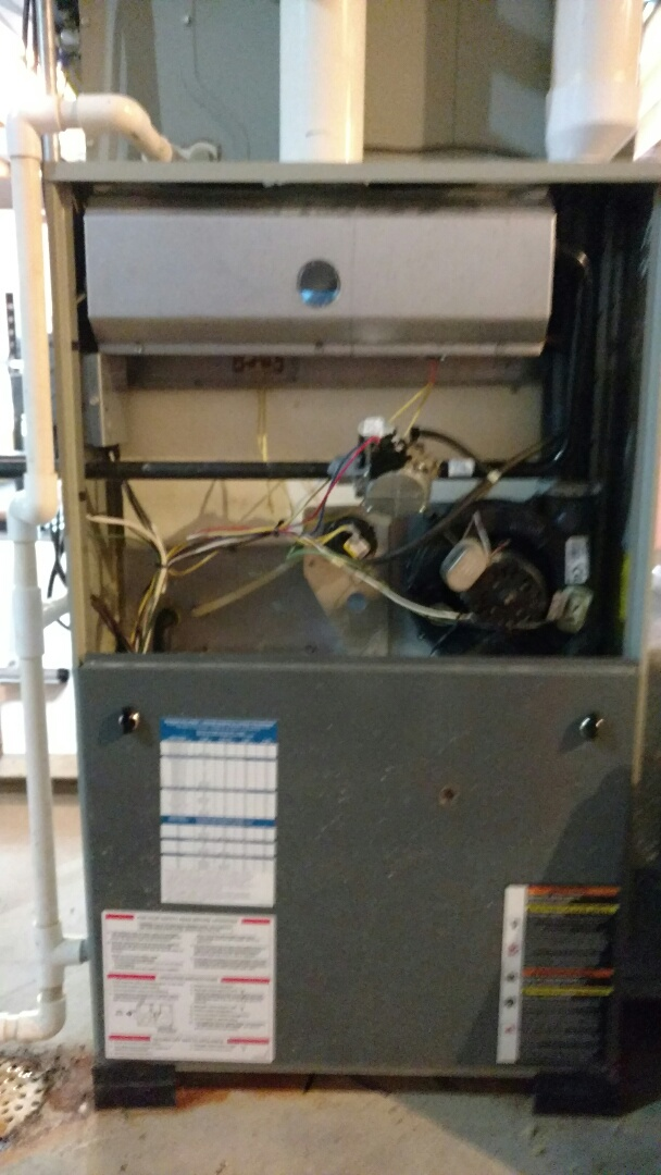 Fairland, IN - Trane gas furnace repair