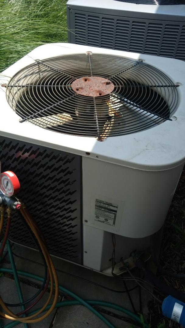 Servicing nordyne heat pump
