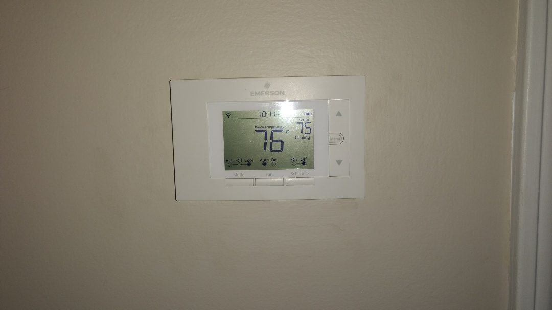 Installing sensi wifi thermostat