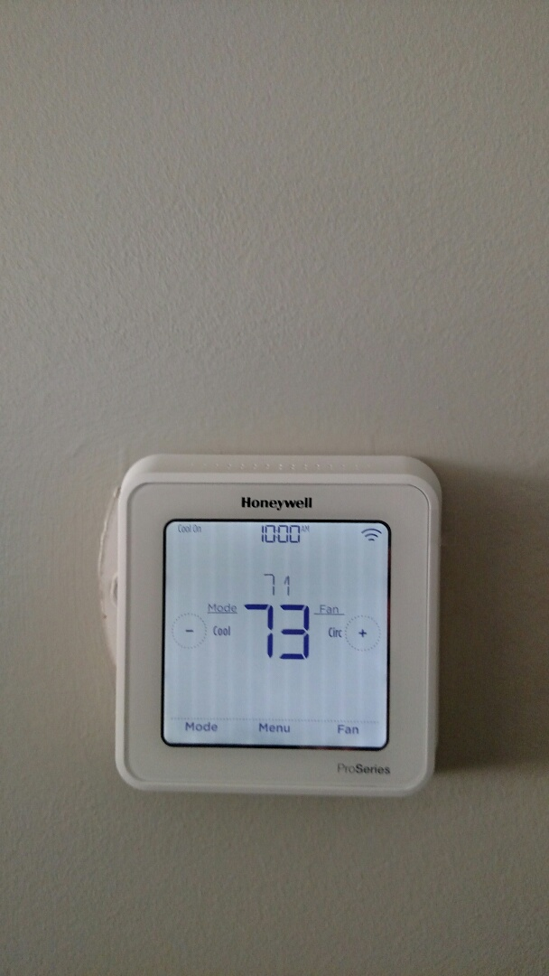 Noblesville, IN - Install wifi thermostat
