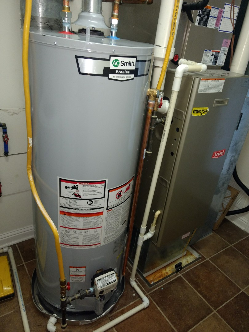Avon, IN - Plumber needed. Installing A.O. Smith water heater