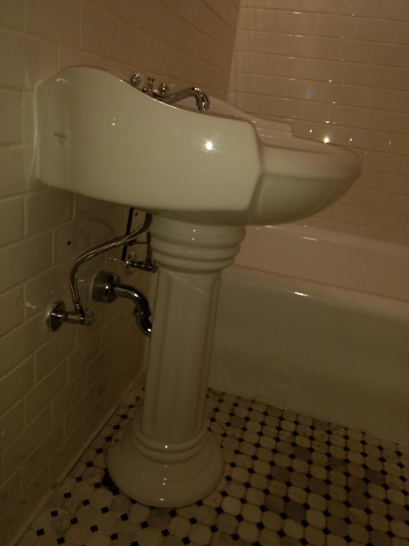 Indianapolis, IN - Plumber needed. Installing bathroom sink