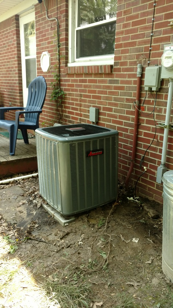 McCordsville, IN - Air conditioner not working