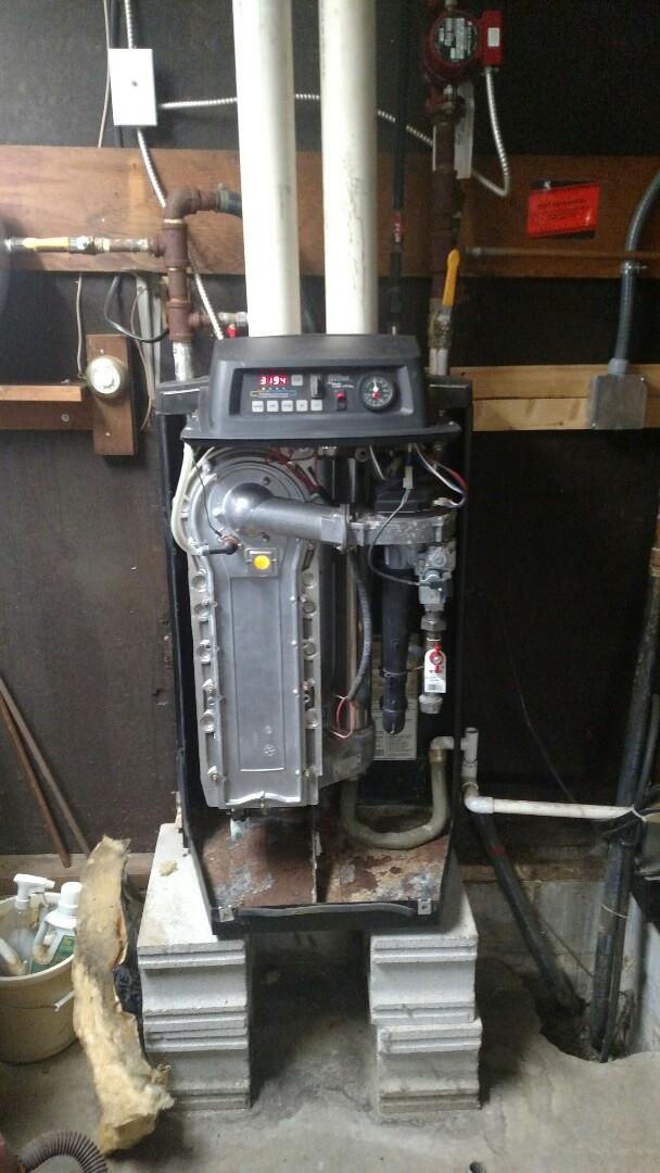 Pendleton, IN - Service boiler /hanging heater
