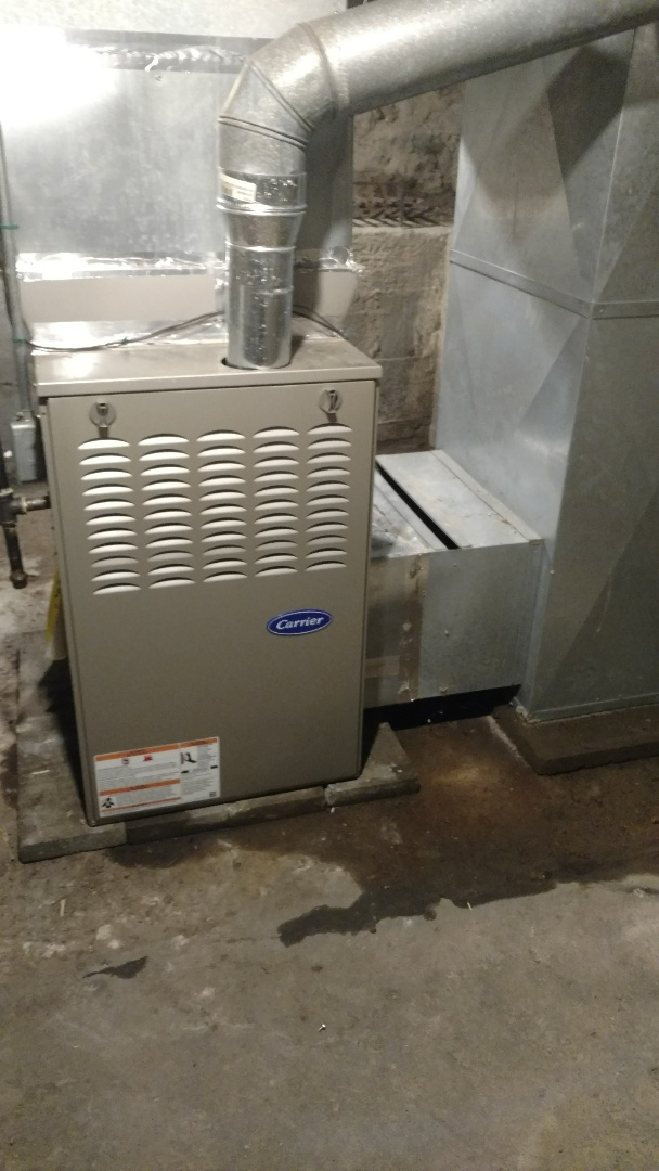 Wilkinson, IN - Furnace not blowing hot air