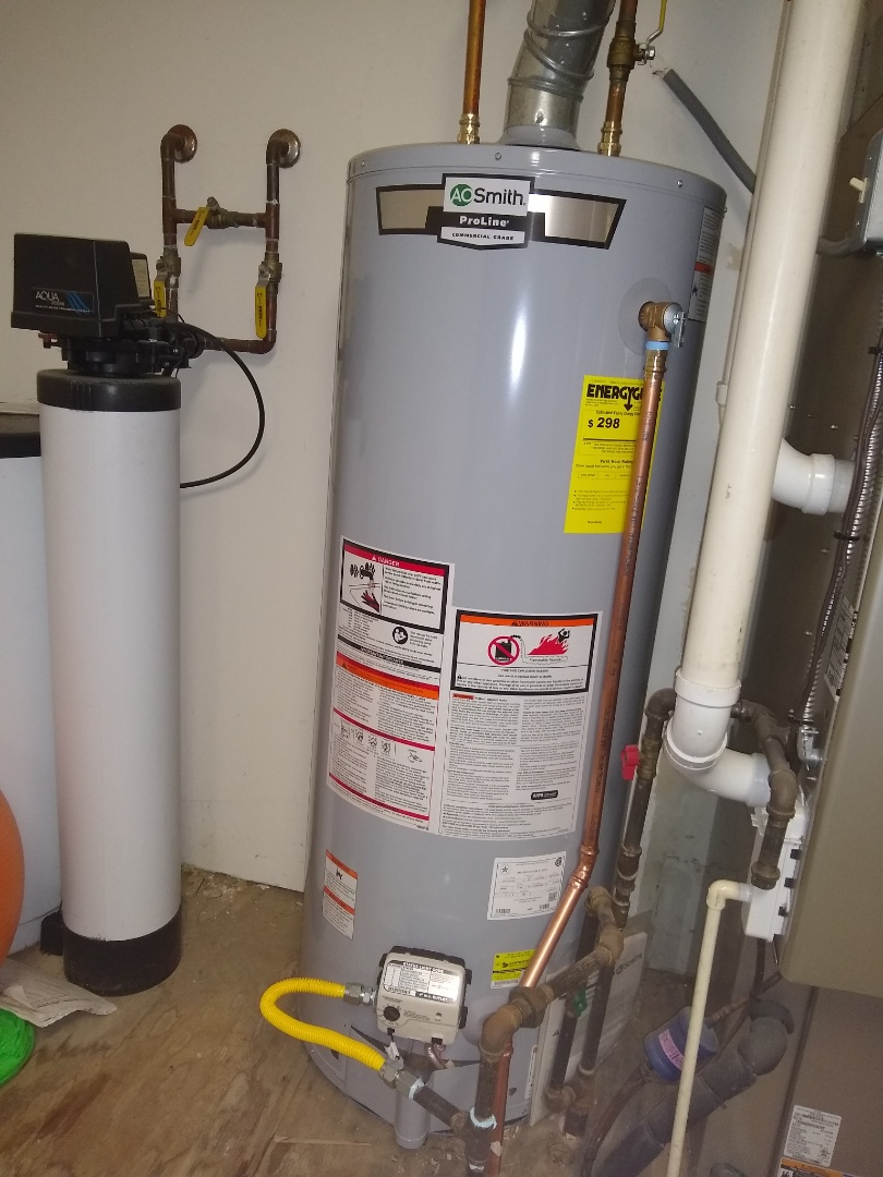 New Palestine, IN - Water heater replacement