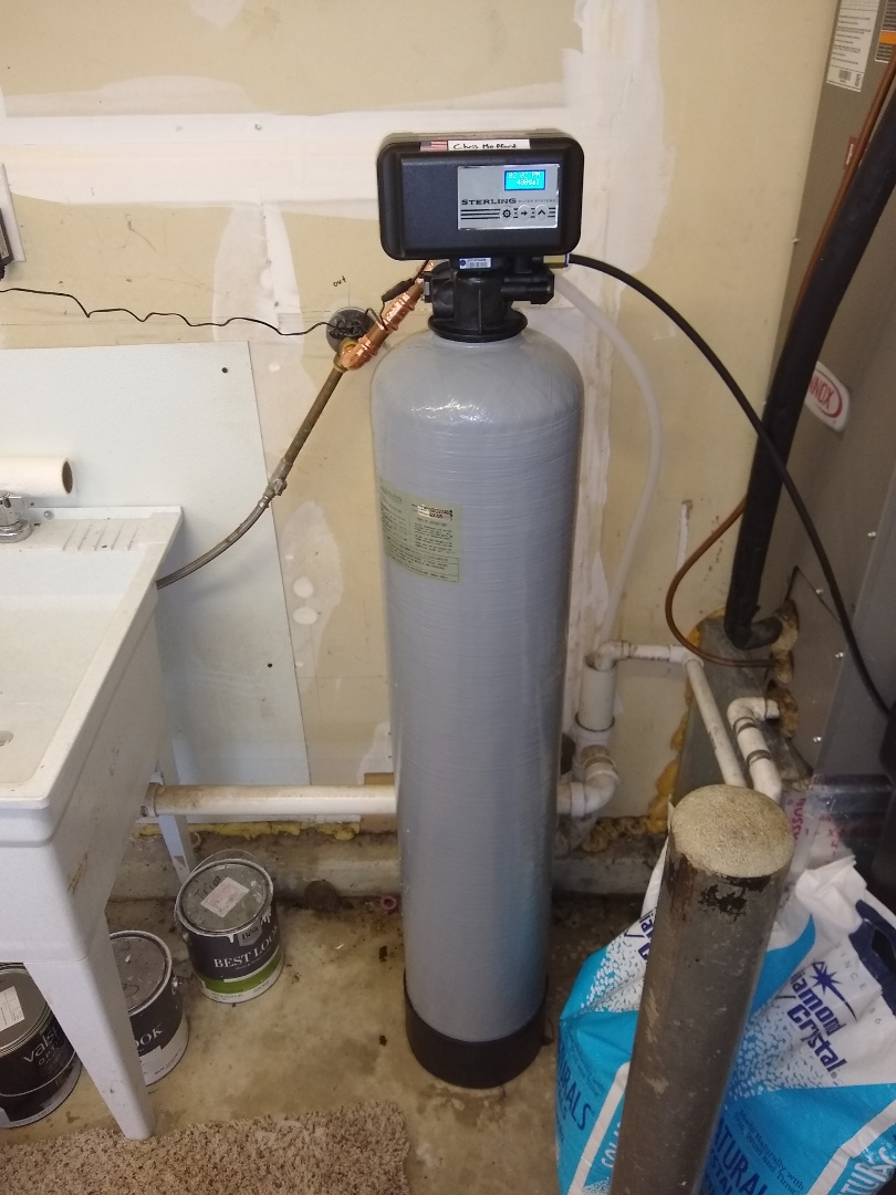 Fishers, IN - Water softener install