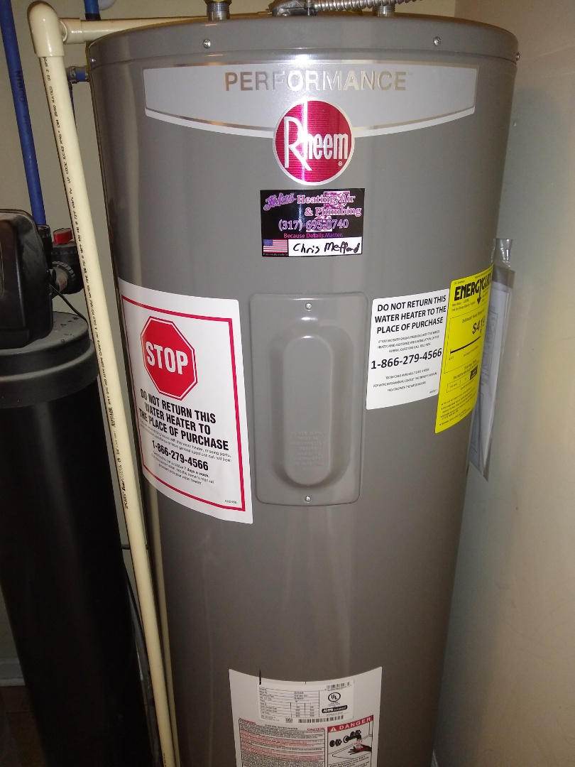 New Palestine, IN - Water heater