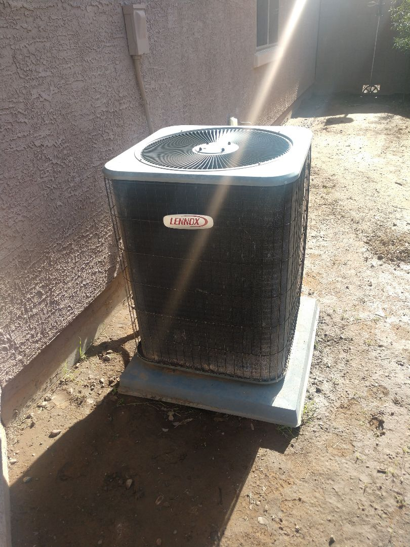 Tolleson, AZ - Heating inspection on Lennox heatpump