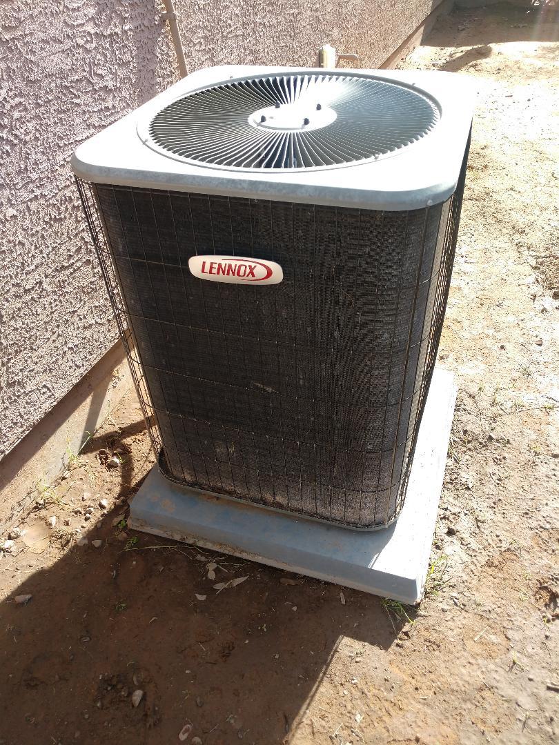Tolleson, AZ - Heating Repair on Lennox heatpump