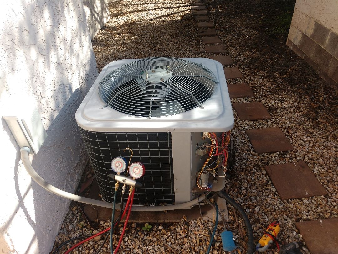 Tempe, AZ - Heating Inspection. Performed heating tune up on day & night heatpump