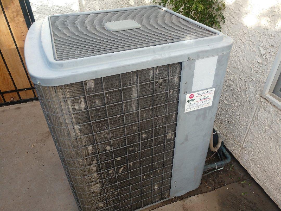 Tempe, AZ - Heating Repair. Repaired day & night heatpump