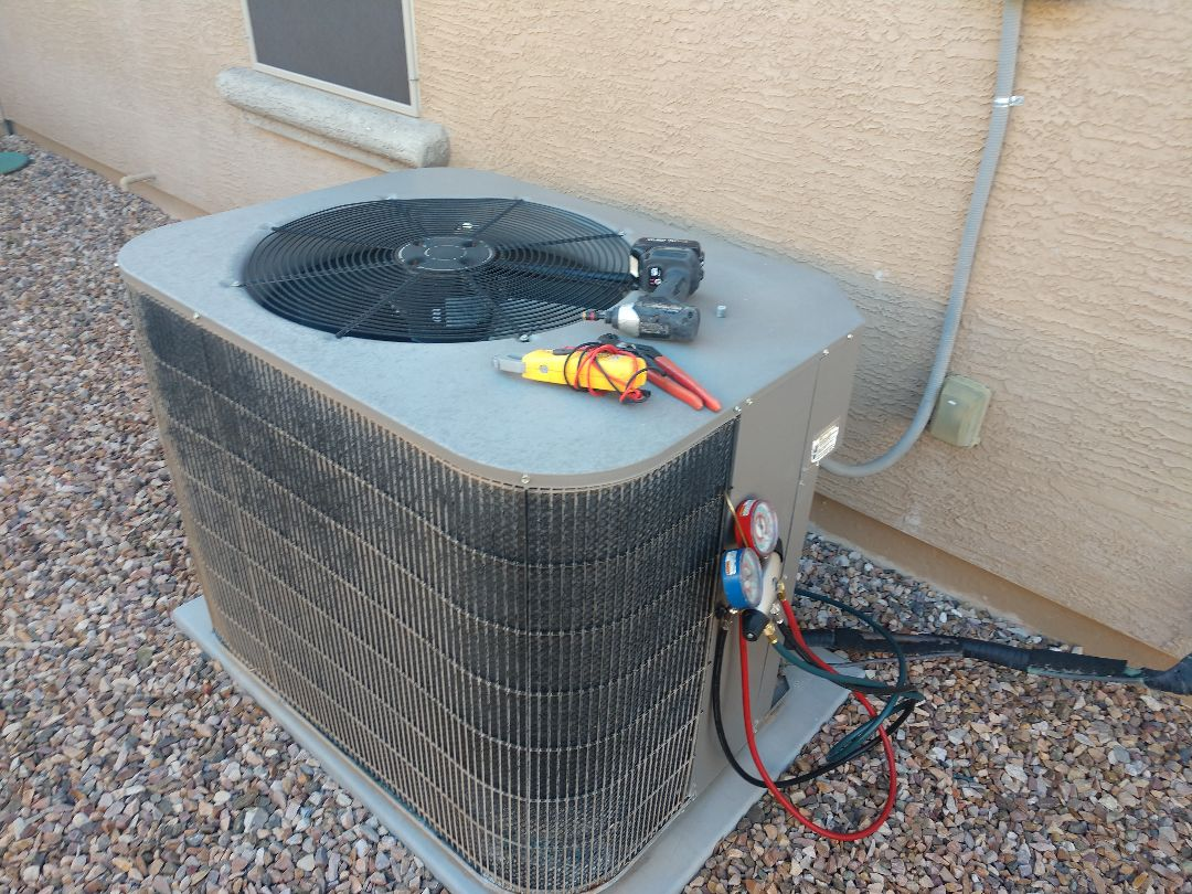 Phoenix, AZ - Heating tune up. Performed heating Inspection on York heatpump