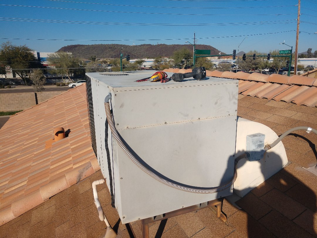 Phoenix, AZ - Heating Repair on Goodman package heat pump