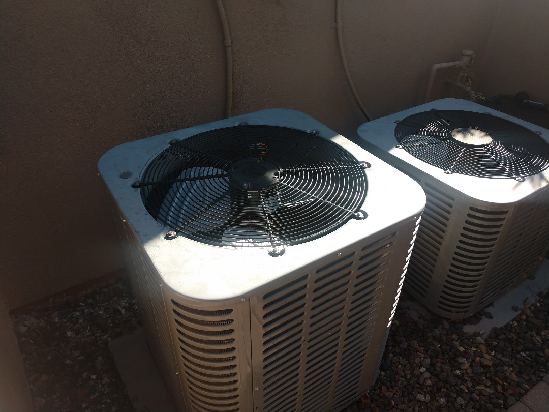 Scottsdale, AZ - Heating Repair. Performed heating Repair on Ameristar heat pump