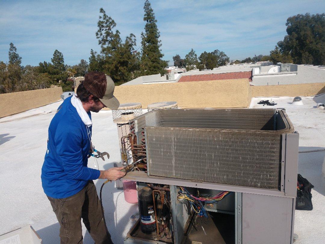 Tempe, AZ - Heating Repair. Performed heating Repair on day & Night heatpump