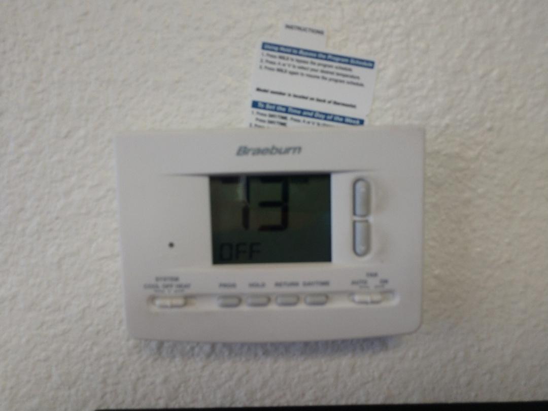 Tempe, AZ - No ac call. Replaced thermostat
