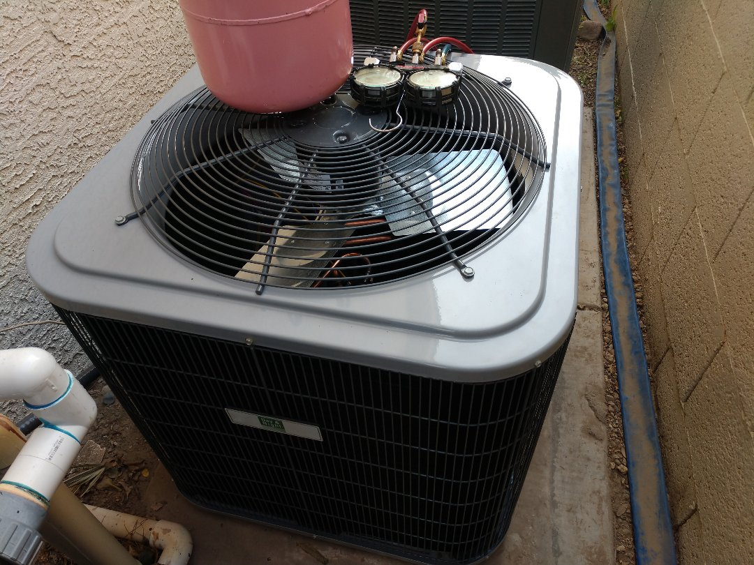 Glendale, AZ - Ac Installation. Installed day & night heat pump